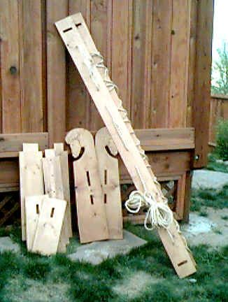 Viking bed theres many other viking furniture plans if for Viking chair design
