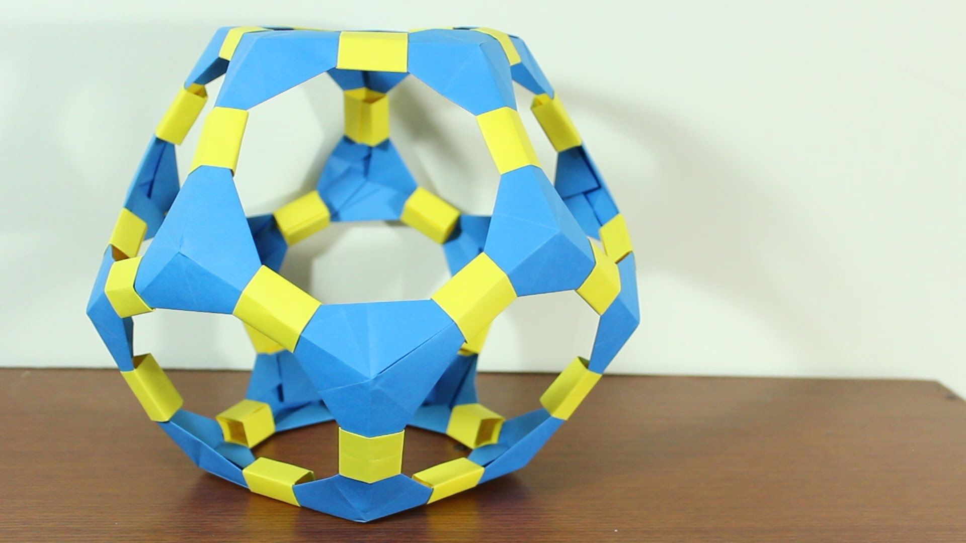 Origami Dodecahedron Dodecaedro De Origami Tutorial Origami