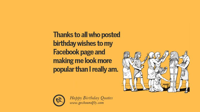 33 Funny Happy Birthday Quotes And Facebook Wishes Happy Birthday Quotes Funny Birthday Quotes Funny Birthday Wishes Funny