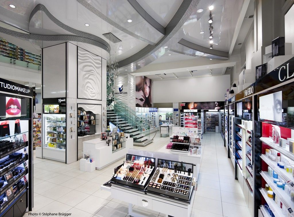 New Jean Coutu Pharmacy In Montreal Canada By Groupe Chagall Design