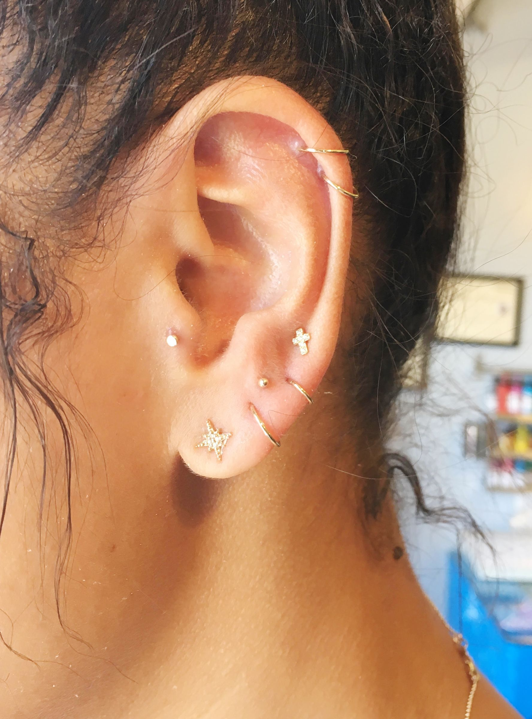 L.A.'s Raddest Trend: Constellation Piercings | Body ...
