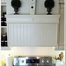 How to Create a Faux Tile Hand Painted Backsplash