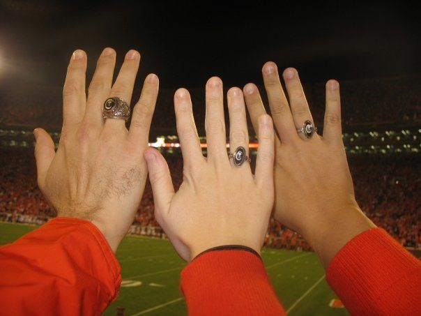 champions for ring championship football rings fans product tigers custom clemson asp acc