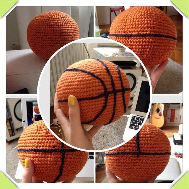 3vordrei On The Hook Gift Knitting Patterns Basketball Crochet Amigurumi Free Patterns