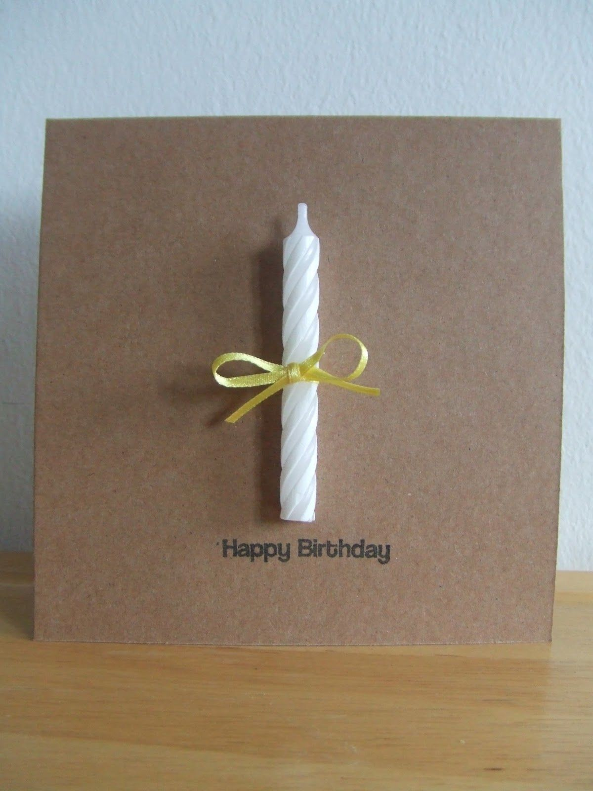 Открытка коллеге своими руками на день рождения