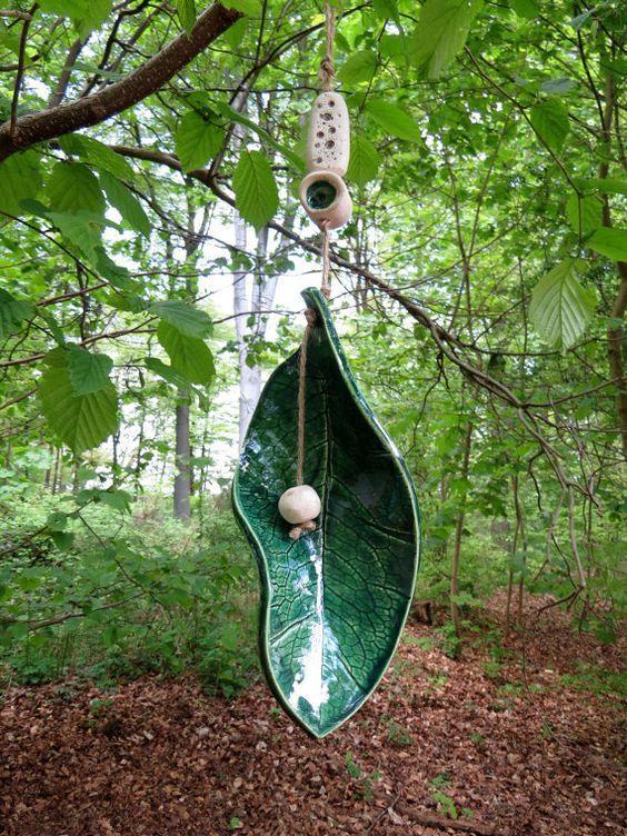 keramik glocke keramik windspiel glocke 1 in von gedemuck auf etsy t pfern pinterest. Black Bedroom Furniture Sets. Home Design Ideas