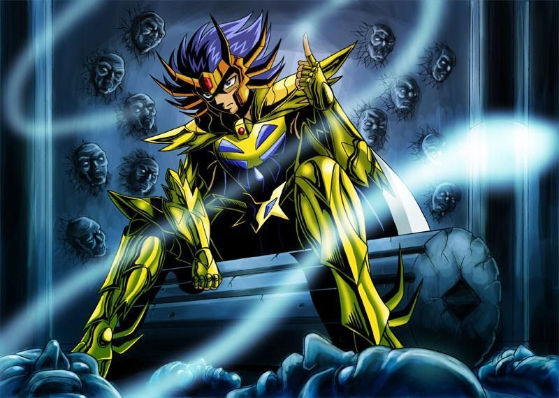 Image result for death mask saint seiya