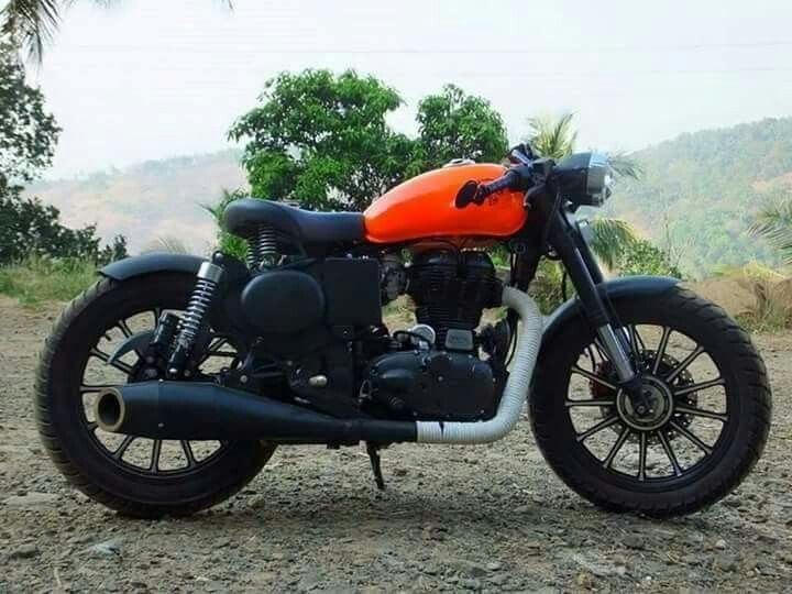 Royal enfiled cool alteration | bike ideas | Bullet modified