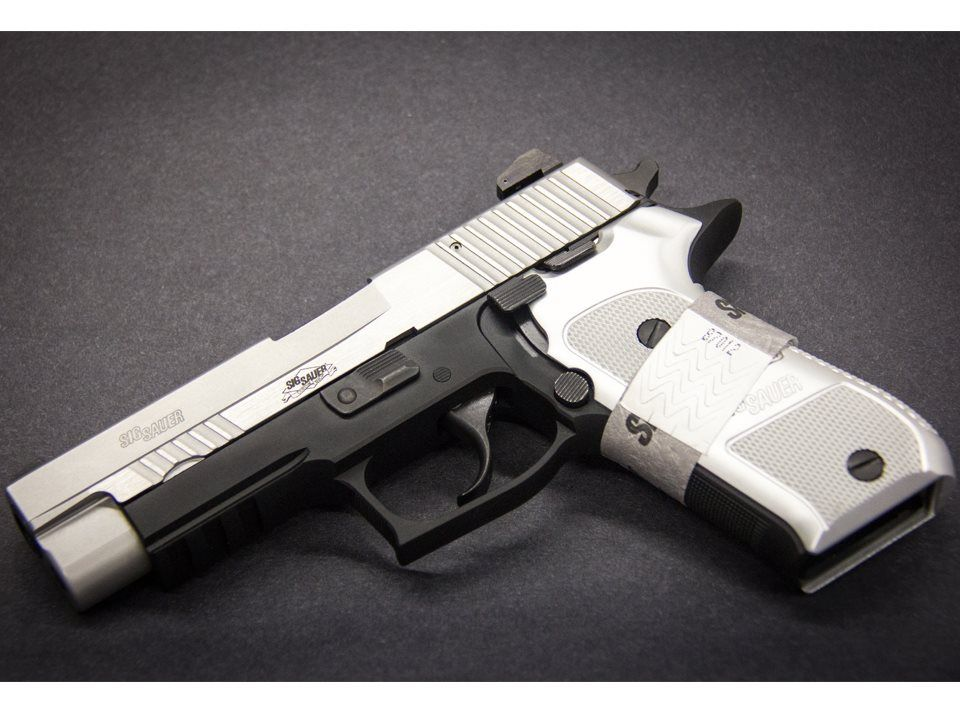 The new Sig Sauer P226 Elite Platinum is the next generation P226