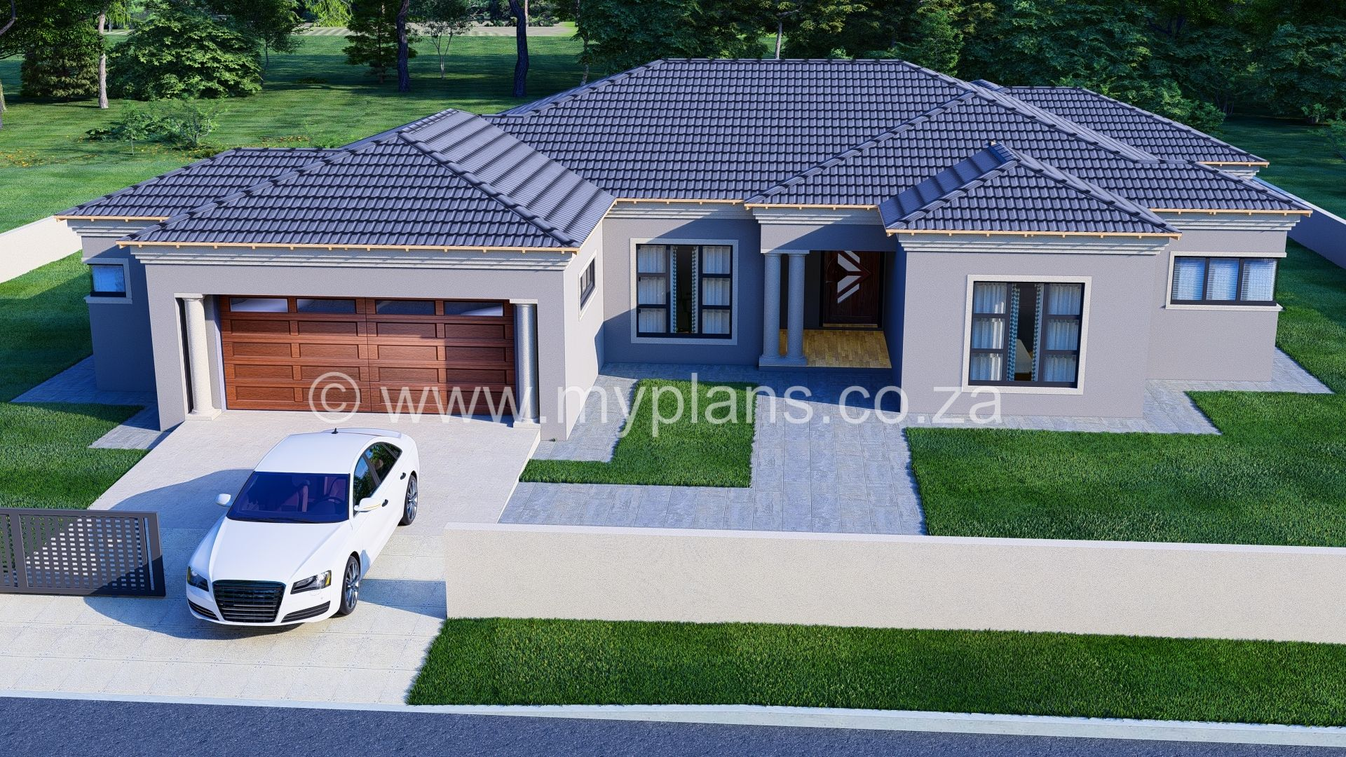 3 Bedroom House Plan Mlb 069s Free House Plans My House Plans House Plans South Africa