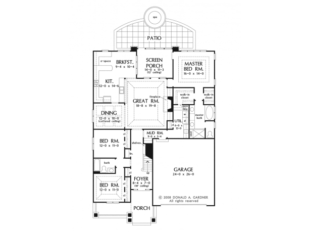 Check out that e space right next to the kitchen it 39 s a for Perfect kitchen floor plan