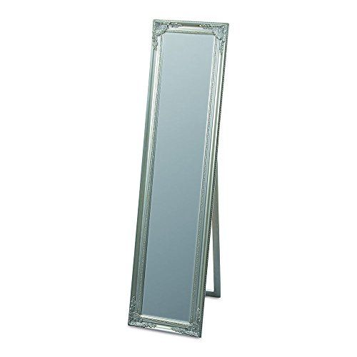 Buy The Rustic French Country Style Floor Mirror Silver