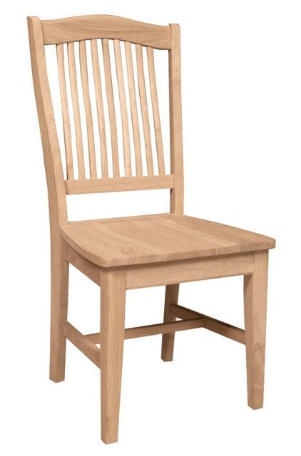 Stafford Unfinished Dining Chair Free Shipping An Furniture Expo Online Exclusive Our Features A Higher Back Than Most