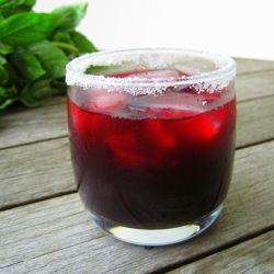 Blackberry Orange Margaritas. Summer in a glass.