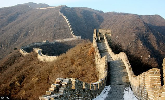 New Section Of Great Wall Of China Discovered By British