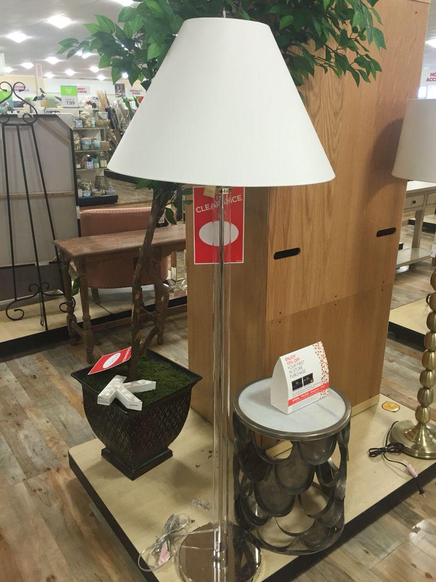 Floor lamp home goods store lamp floor lamp