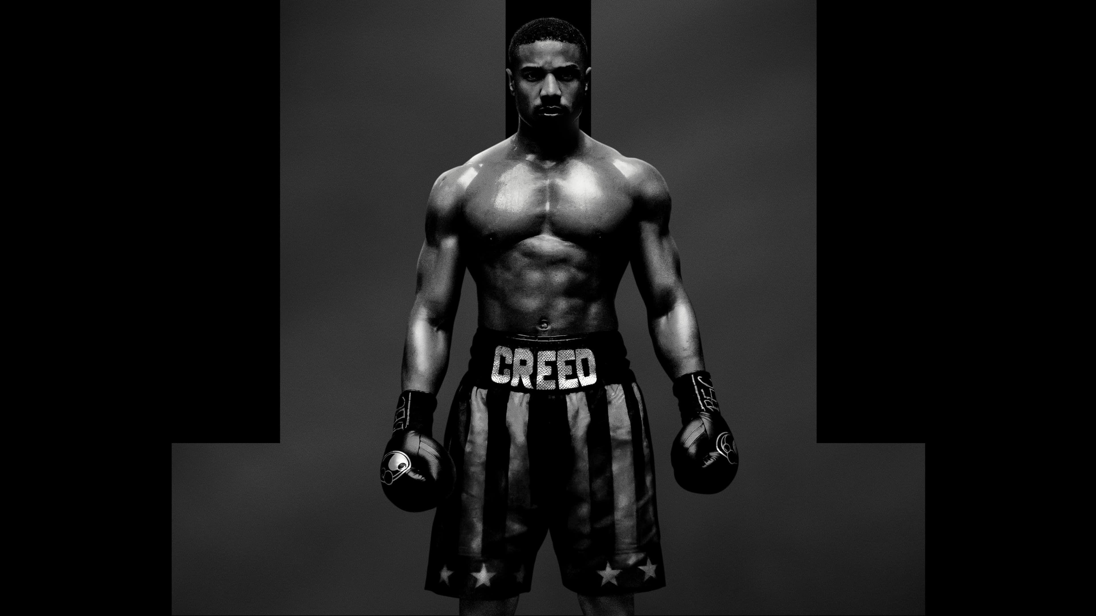 Den Unge Afroamerikanske Bokser Adonis Creed Bliver Stadig Traenet Af Den Aldrende Rocky Balboa Under Forberedelserne Til Creeds Naeste Kamp Gar Det Op For Dem