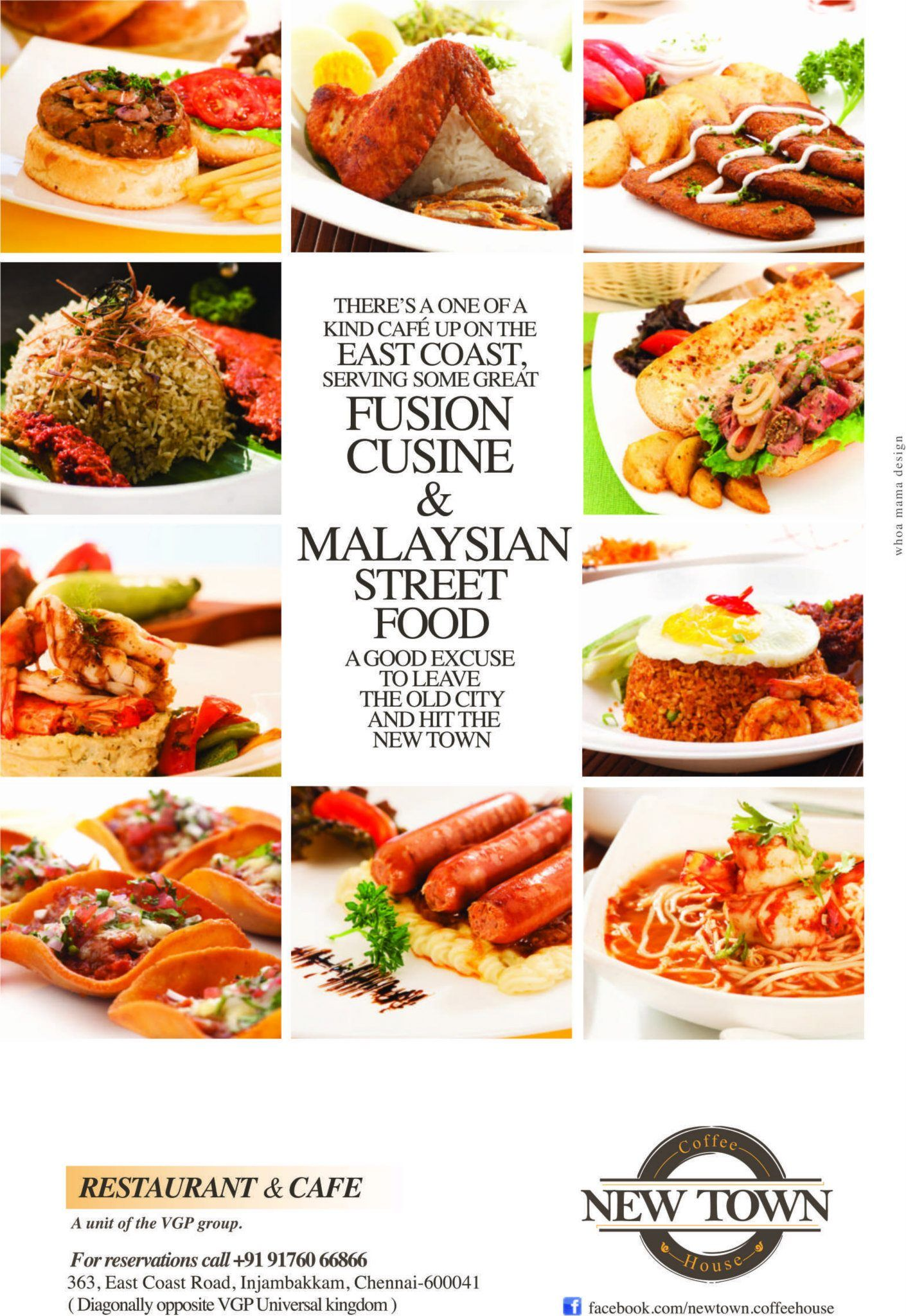 Fusion Cuisine & Malaysian Street Food New Town Coffee