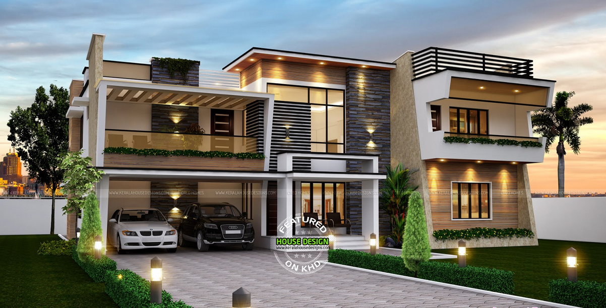 Luxuries contemporary house plan by creo homes amazing for Modern home builder magazine