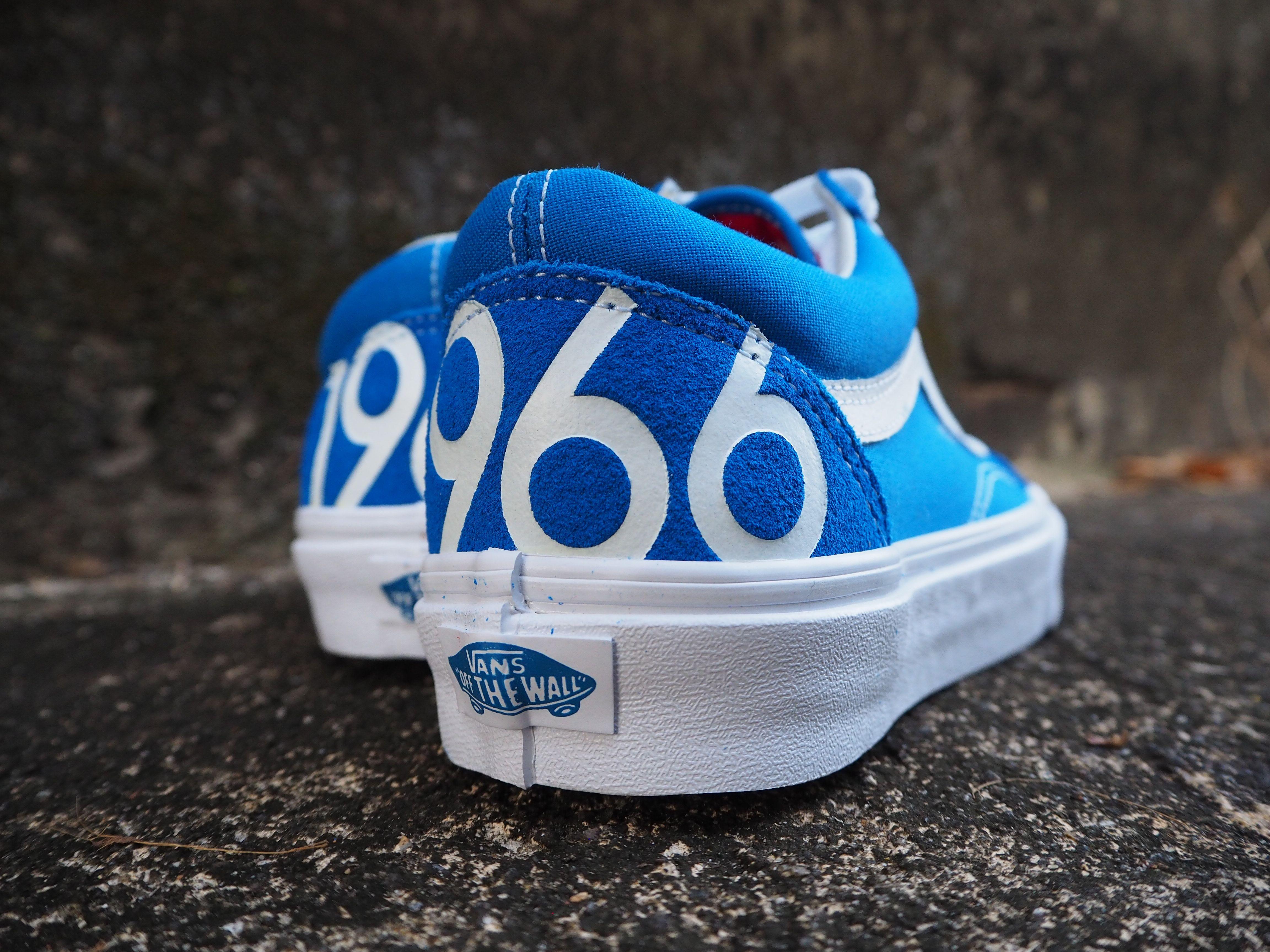 vans old skool blue 1966