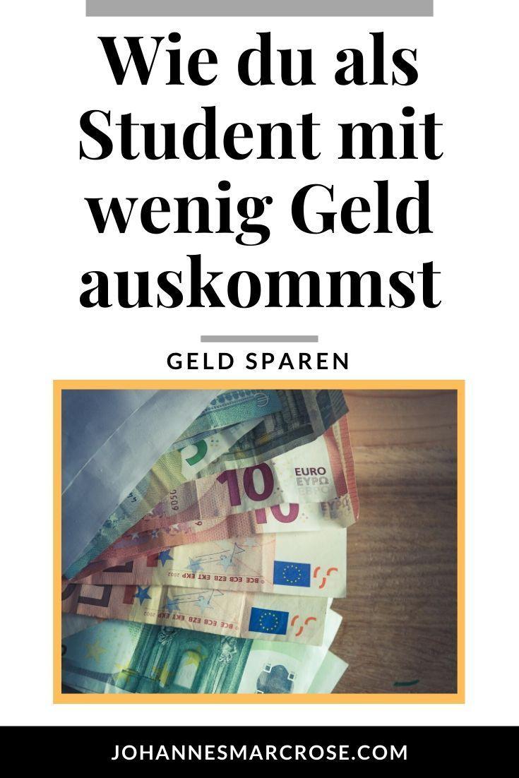 Als Student mit wenig Geld auskommen - Geld sparen als ...