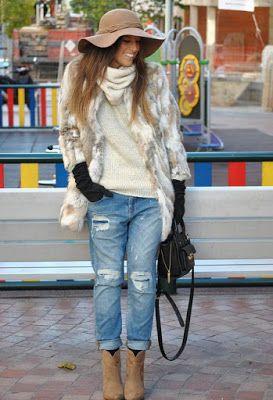 Modelos de outfits de moda Otoño Invierno