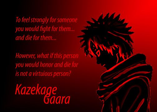 gaara quotes loneliness daily inspiration quotes