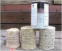 papercrete, fibercrete, fibrocemento - Vivir en Papel