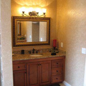 Standard Height Bathroom Vanity Light Fixture