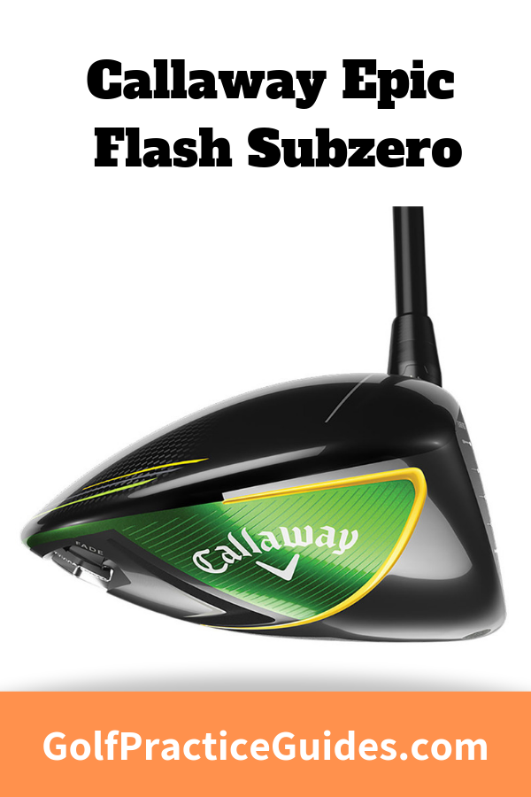 The new epic flash subzero driver by Callaway is one of the