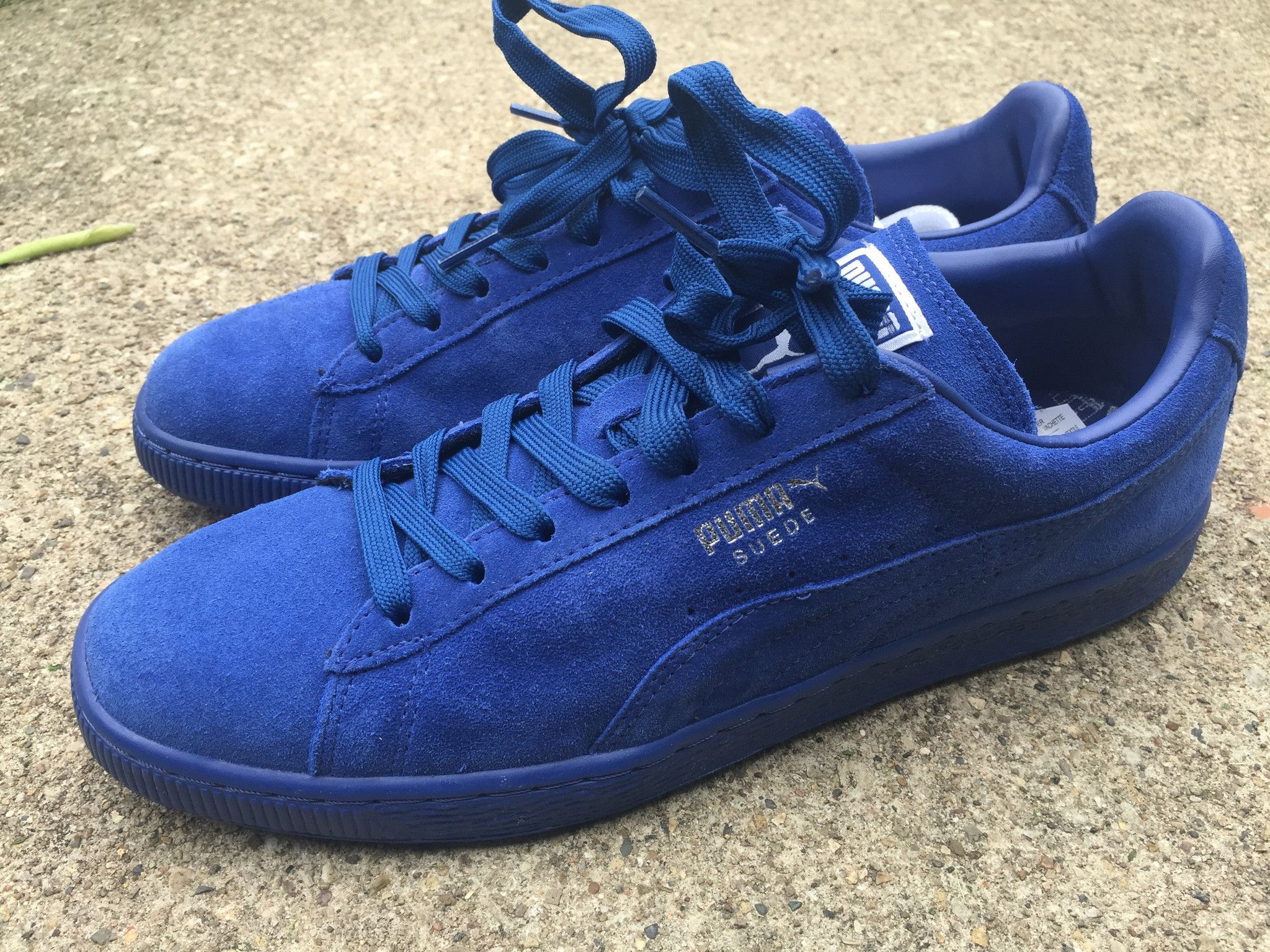 separation shoes d3e3d 21a39 Puma Suede Classic Iced Royal Blue Sz. 9.5 | puma suede ...