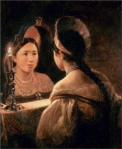 Svetlana Guessing Her Future,1836- Karl Bryulov