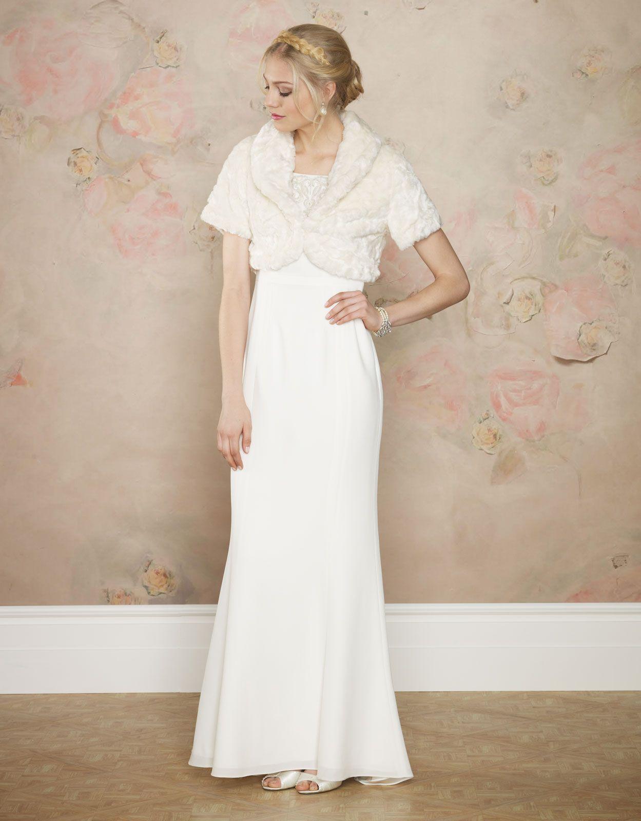 TXMI 4290E - Empire Period 17. 2000s Empire inspired wedding dress ...