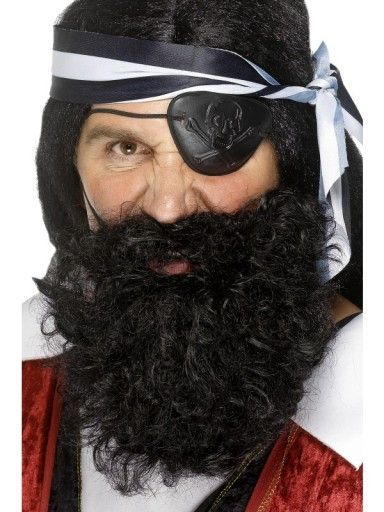 Dressing up as a pirate for Talk like a pirate day? Then be sure to not miss the essential accessories! If you cannot already be proud of your facial hair, choose this alternative £4.19