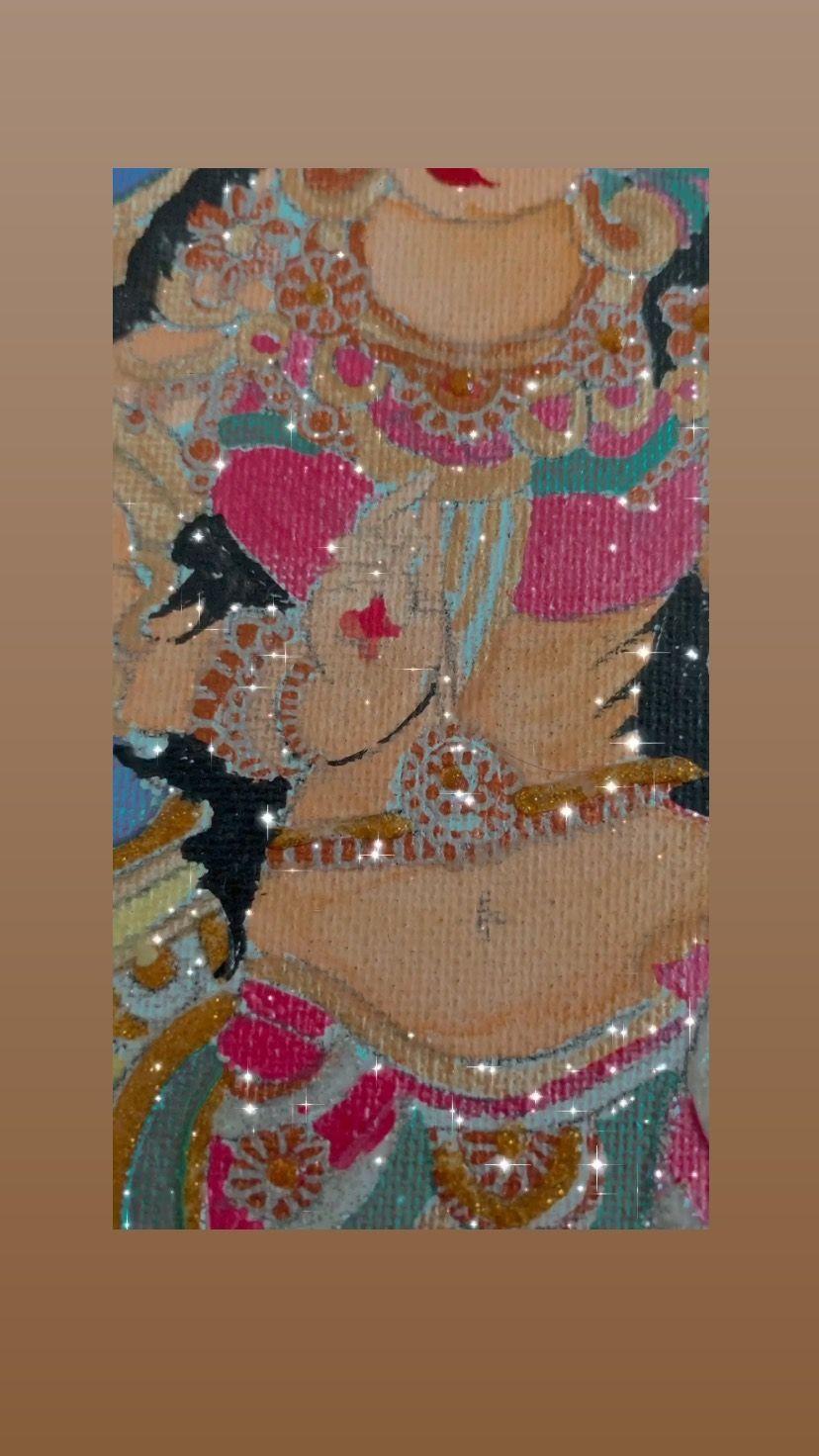 kalopsic_art_ on Instagram: #indianart #murals #artstagram #fevicrylhobbyideas #fevicryl #fevicrylacryliccolours #fevicrylpearlcolours #fevicrylpearlmetalliccolours…