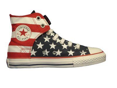 Converse Chuck Taylor All Star Hi Top Easy Slip Red White Blue  b41225c5e