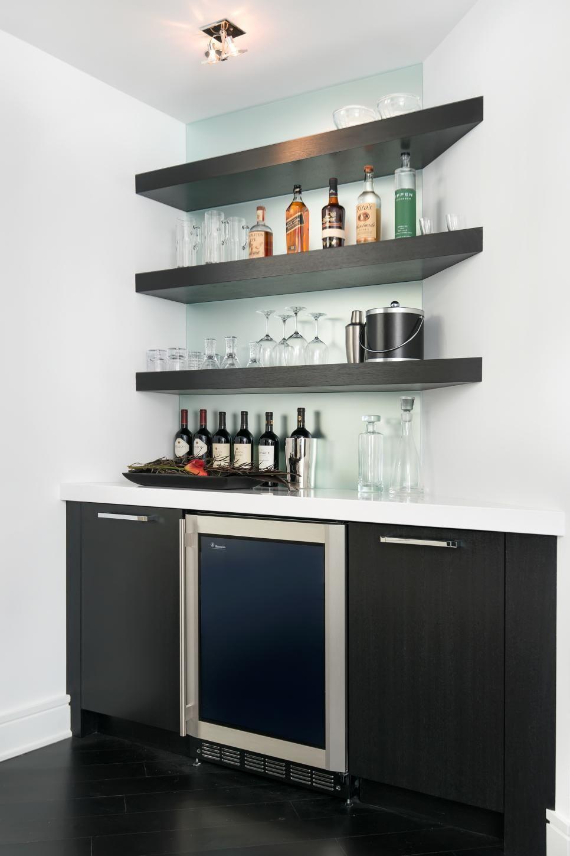 Wonderful Floating Bar Shelves Millenial