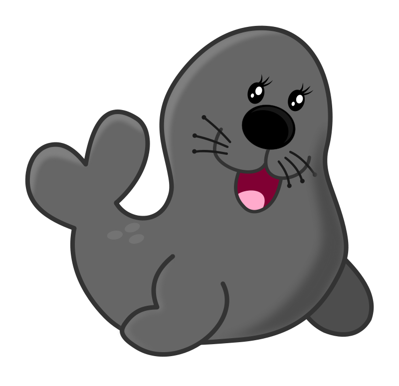 seal by maw acuario animals aquarium circo circus clip art rh pinterest com seal clip art images sea clipart