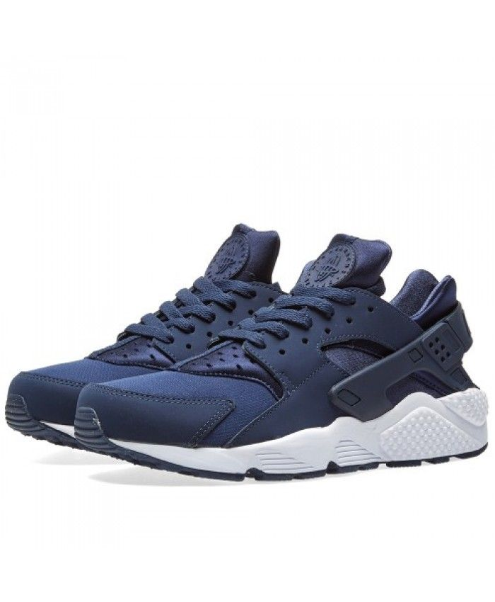 d702ab334e0c Nike Air Huarache Midnight Navy White Trainer