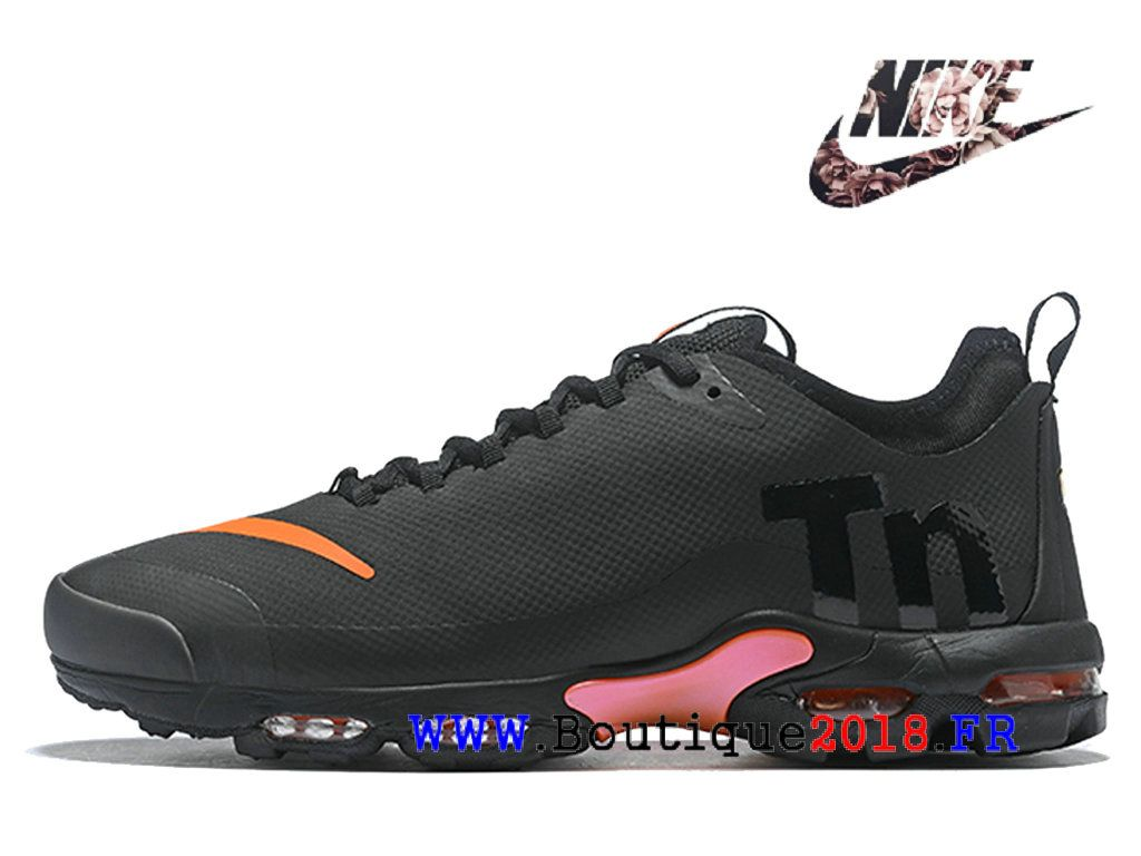 release date: 8058e 69cf2 Nike Air Max Plus TN Gs SE Chaussures Sportswear Pas Cher Pour Femme Rose  Noir AQ0242_001