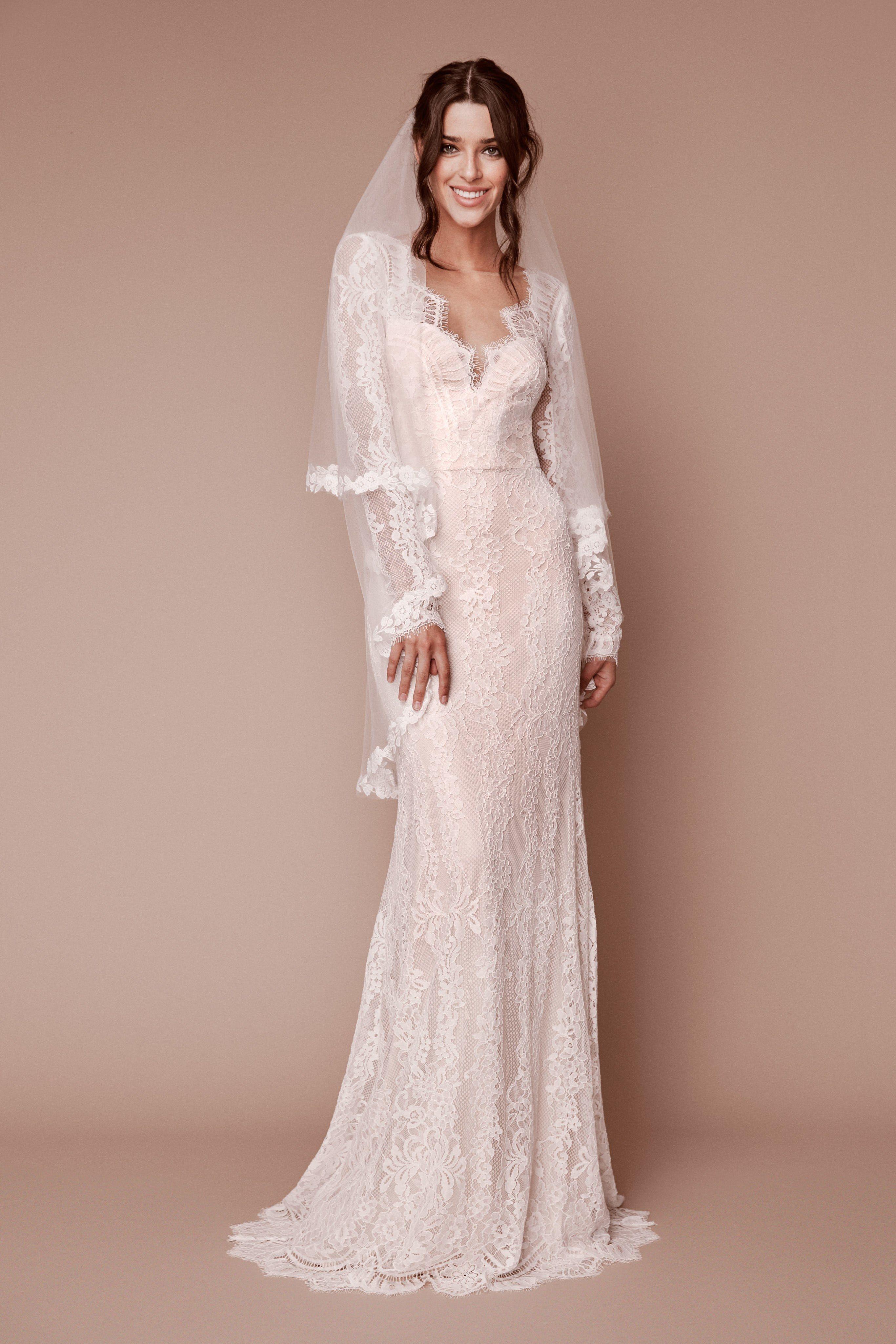 Tadashi shoji bridal fall fashion show bridal fall