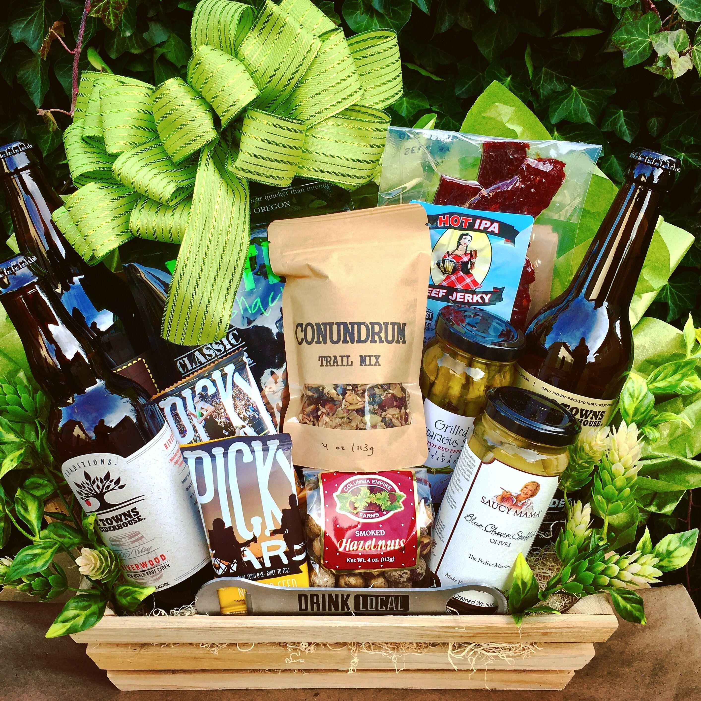 Oregon artisan foods gift basket. #oregon #giftbasket #local #food ...