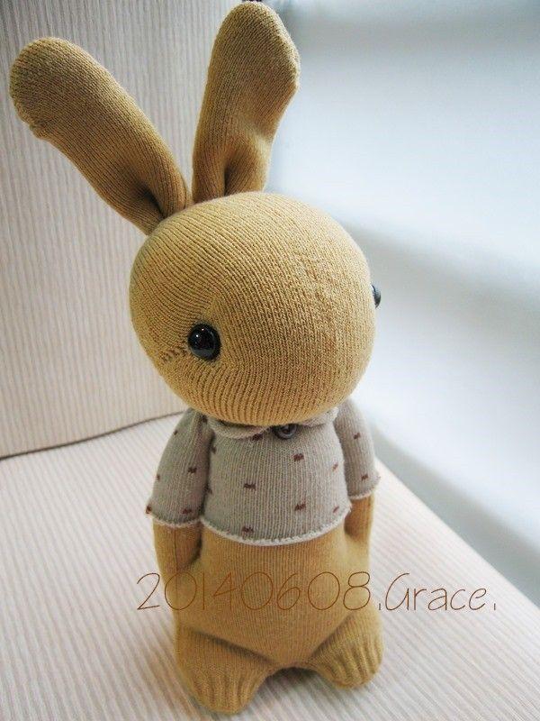 sockentier hase kaninchen n hen pinterest sockentiere hase kaninchen und kaninchen. Black Bedroom Furniture Sets. Home Design Ideas
