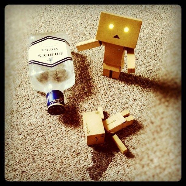 Drunk Mini Danbo