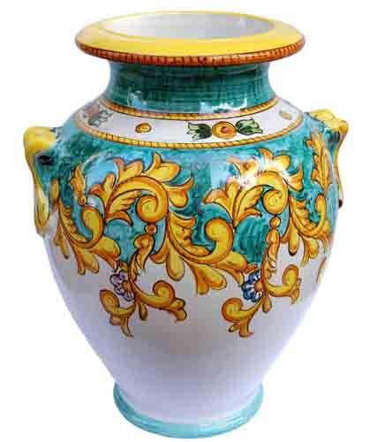 Vasi In Ceramica Di Vietri.Oggettistica Solimene Art Ceramica Vietri Sul Mare Pittura Su
