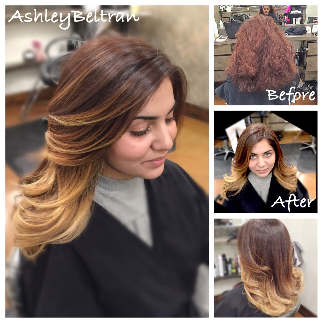 Beforeafter howard kurtz salon sherman oaks ca ombré