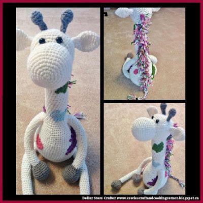 Dollar Store Crafter Crochet Giraffe Free Pattern Amigurumi