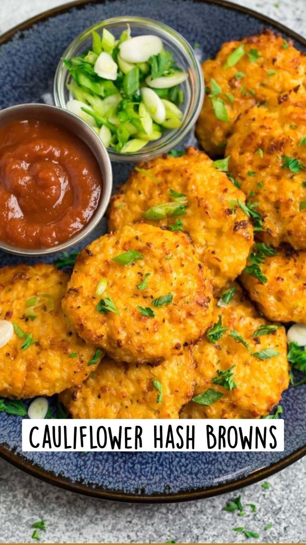 Cauliflower Hash Browns