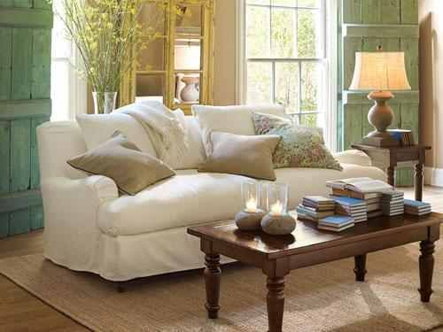 Pottery Barn Living Room Love Colors Cottage Living