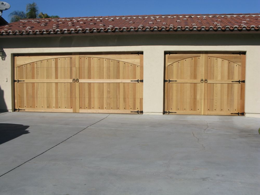 Custom Cedar Wood Garage Doors Cedar Garage Door Wood Garage Doors Garage Doors